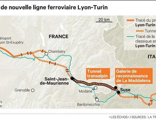 Le projet de ligne à grande vitesse entre Lyon et Turin enfin sur les rails