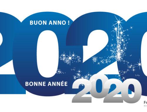 Felice anno nuovo… Bonne année 2020…