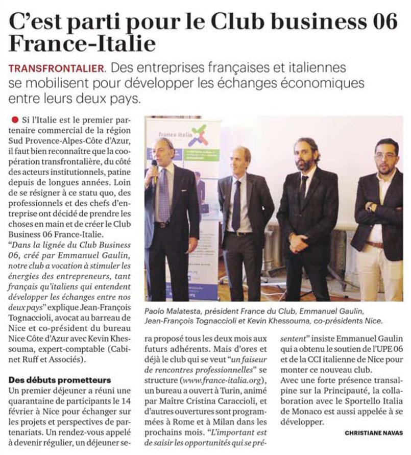 Tribune Cote d'Azur