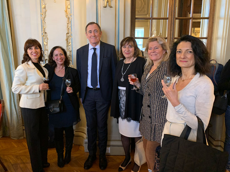 Déjeuner d'affaires Club Business France Italia